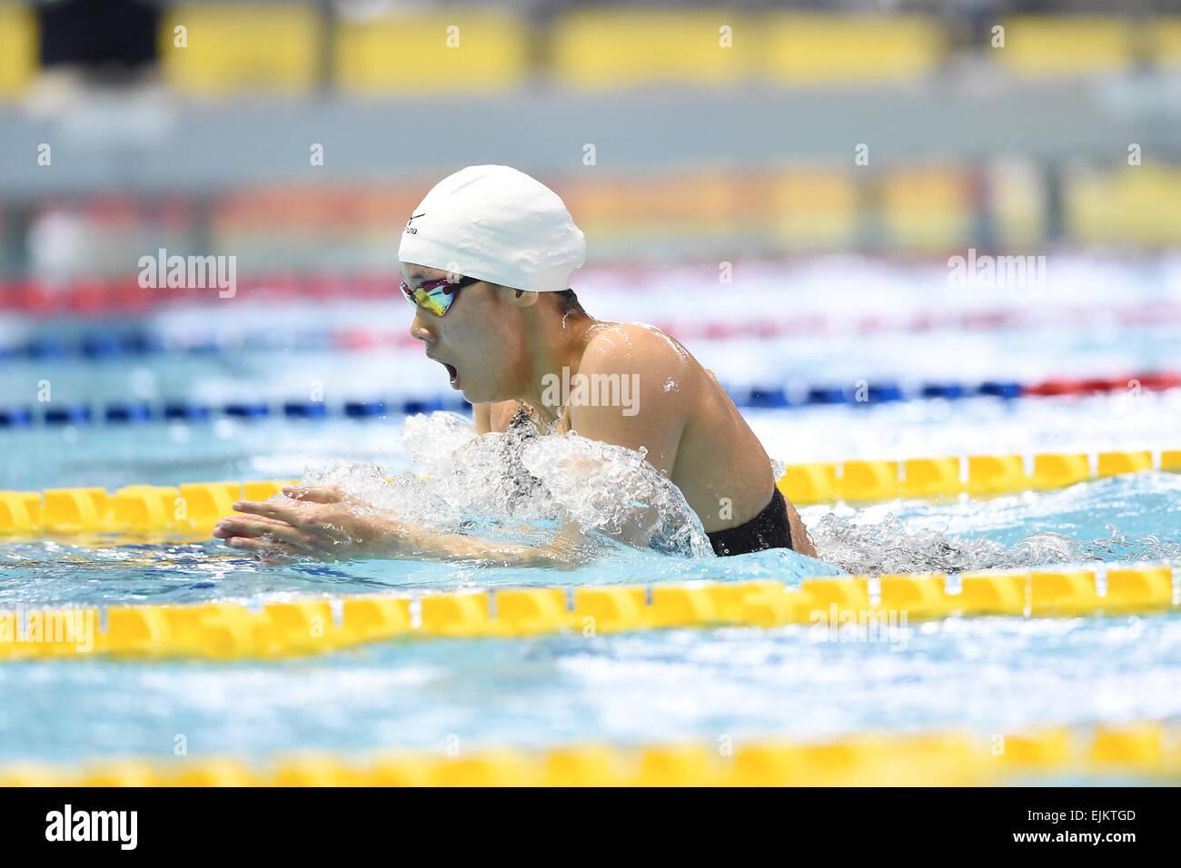 tatsumi international swimming pool tokyo japan 28th mar 2015 suzuka onodera march 28 2015 swimming the 37th joc junior olympic cup womens 400m - Olympic Swimming Pool 2015