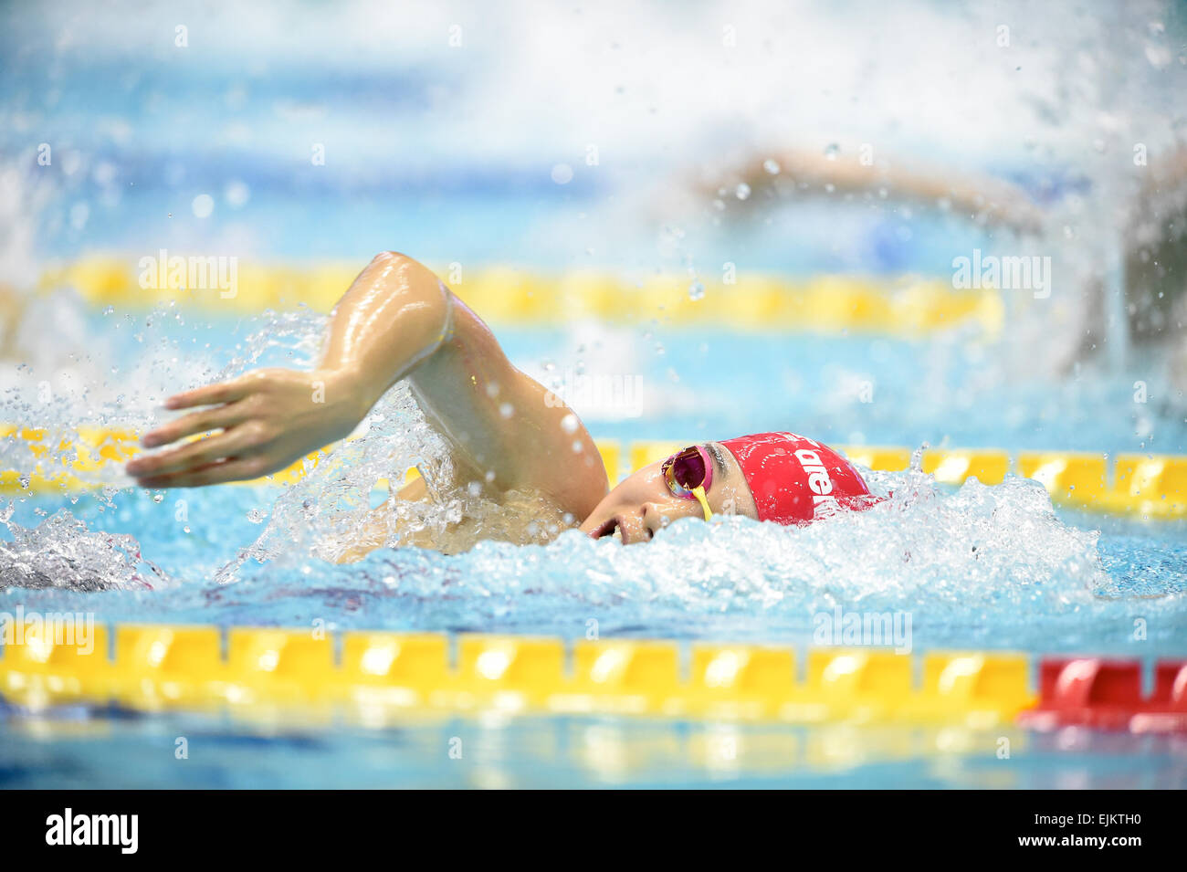 tatsumi international swimming pool tokyo japan 28th mar 2015 momoka kuriyama march 28 2015 swimming the 37th joc junior olympic cup womens 100m - Olympic Swimming Pool 2015