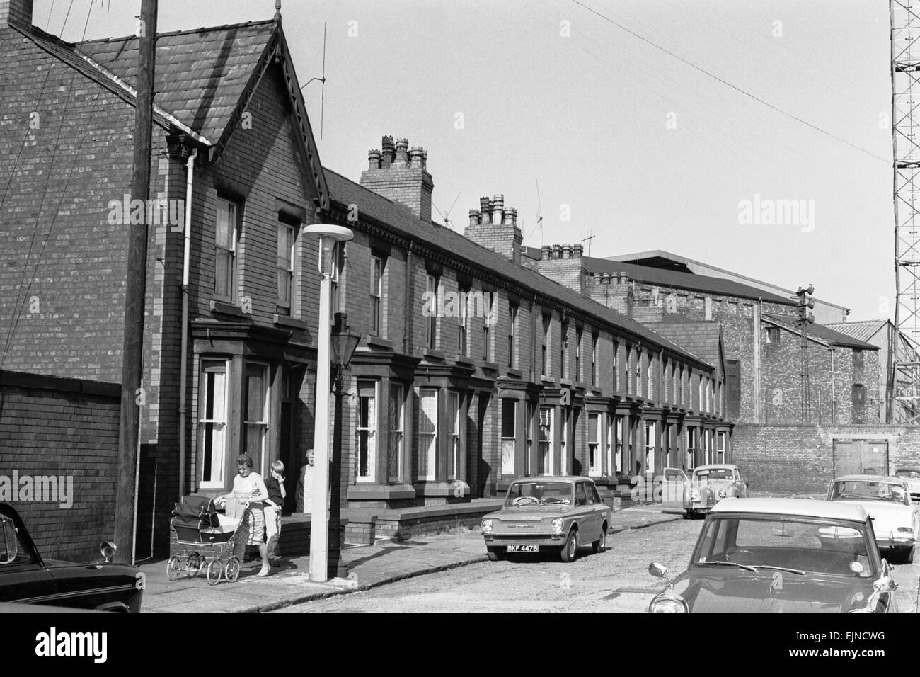 Houses To Be Demolished In Goodison Avenue Walton Liverpool Make Room For A