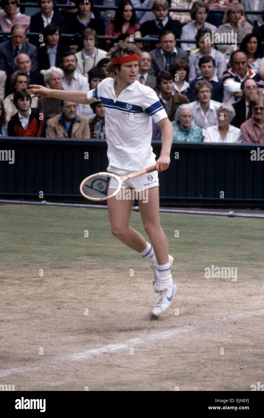 Wimbledon Final 1981 John McEnroe v Bjorn Borg 4th July 1981