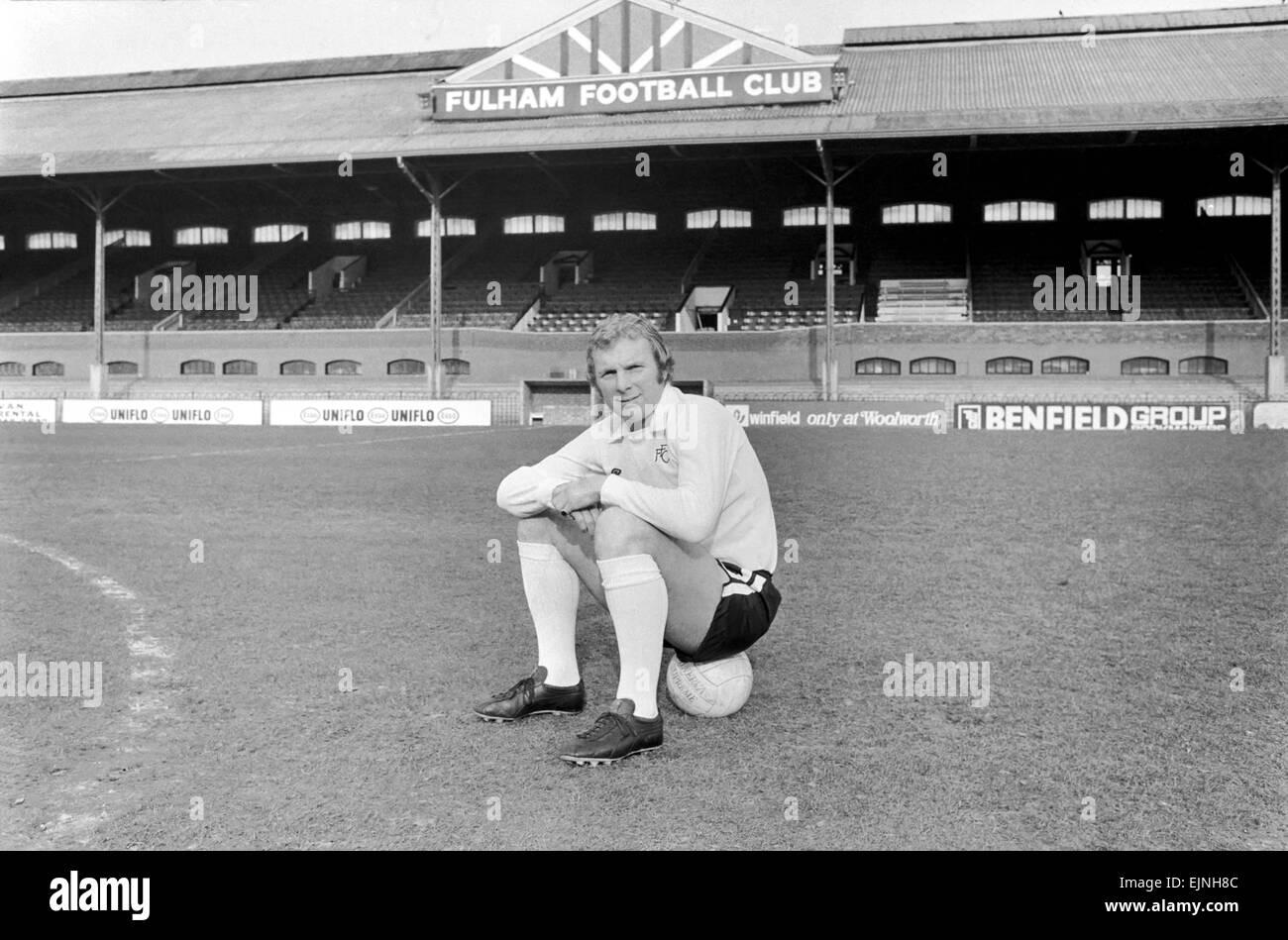 Footballer Bobby Moore Fulham snap up Bobby Moore Bobby Moore