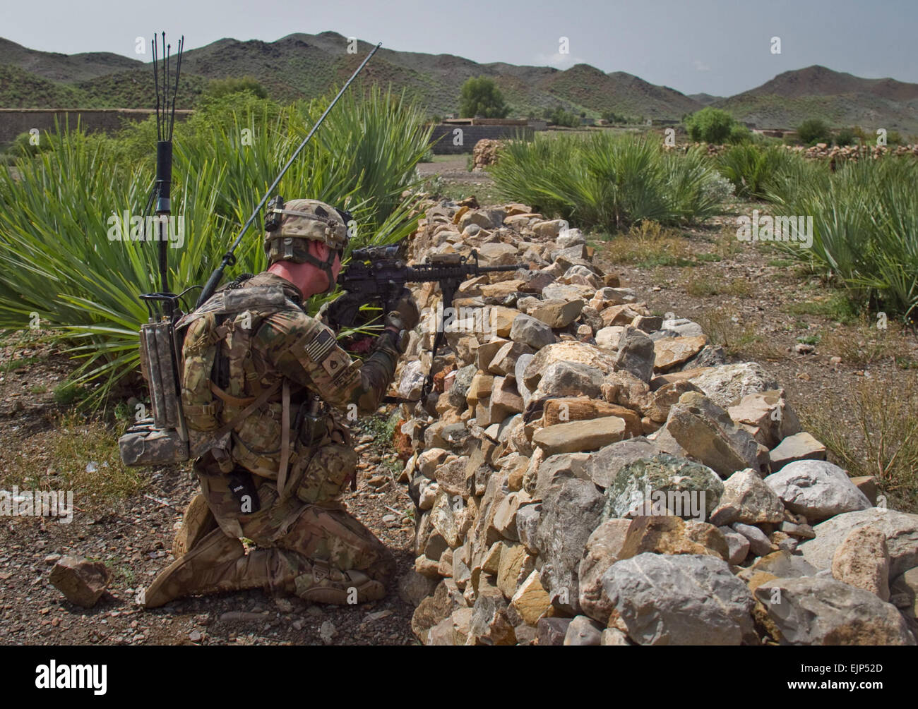 U.S. Army Staff Sgt. Kyle R. Petko, a combat engineer with Company ...