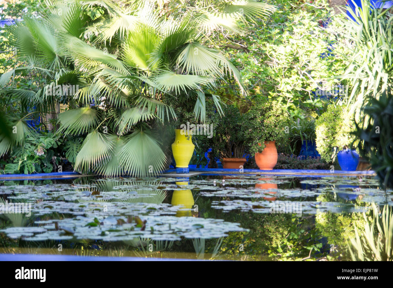 Jardin Ysl Marrakech Of Yves Saint Laurent Memorial In The Majorelle Gardens In