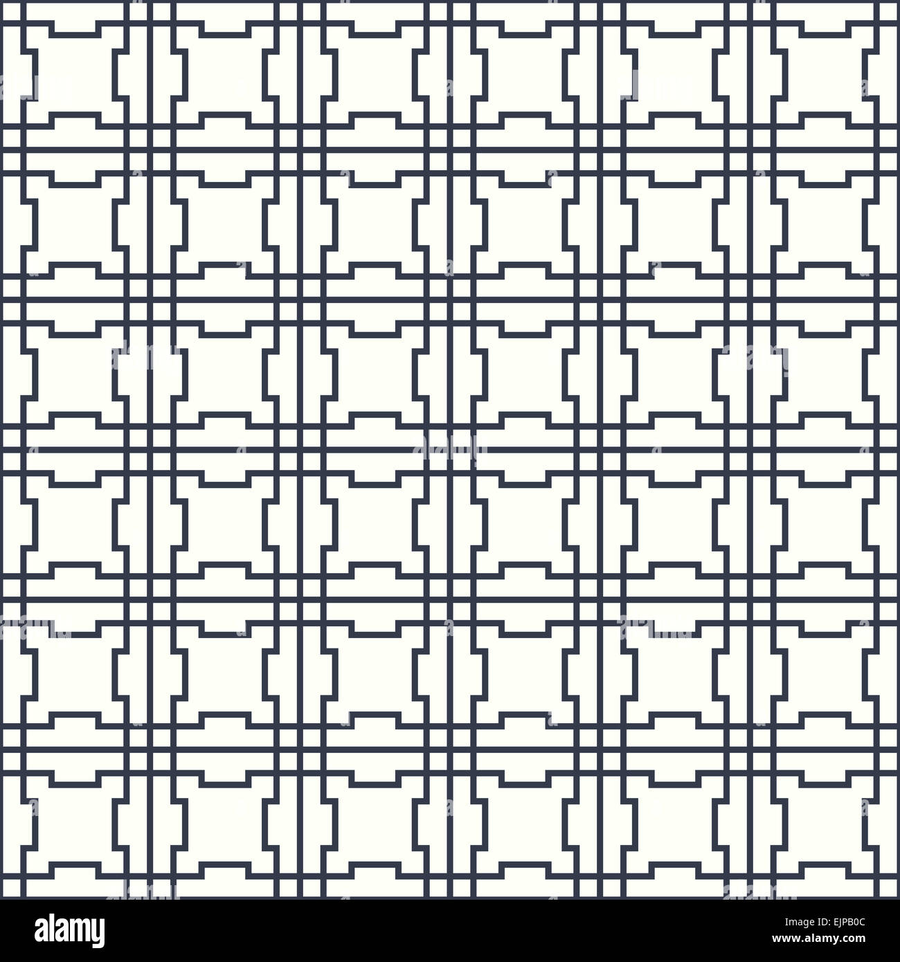 Stock Photo   Symmetrical Geometric Shapes Black And White Vector Textile  Backdrop. Can Be Used As Fabric, Tablecloth Pattern