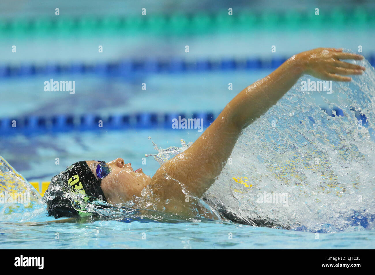 tatsumi international swimming pool tokyo japan 29th mar 2015 miono takeuchi march 29 2015 swimming the 37th joc junior olympic cup womens 50m - Olympic Swimming Pool 2015