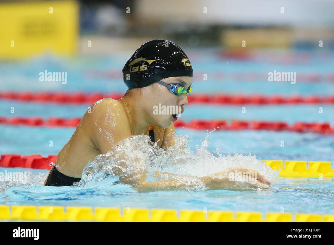 tatsumi international swimming pool tokyo japan 30th mar 2015 rika omoto march 30 2015 swimming the 37th joc junior olympic cup womens 200m - Olympic Swimming Pool 2015