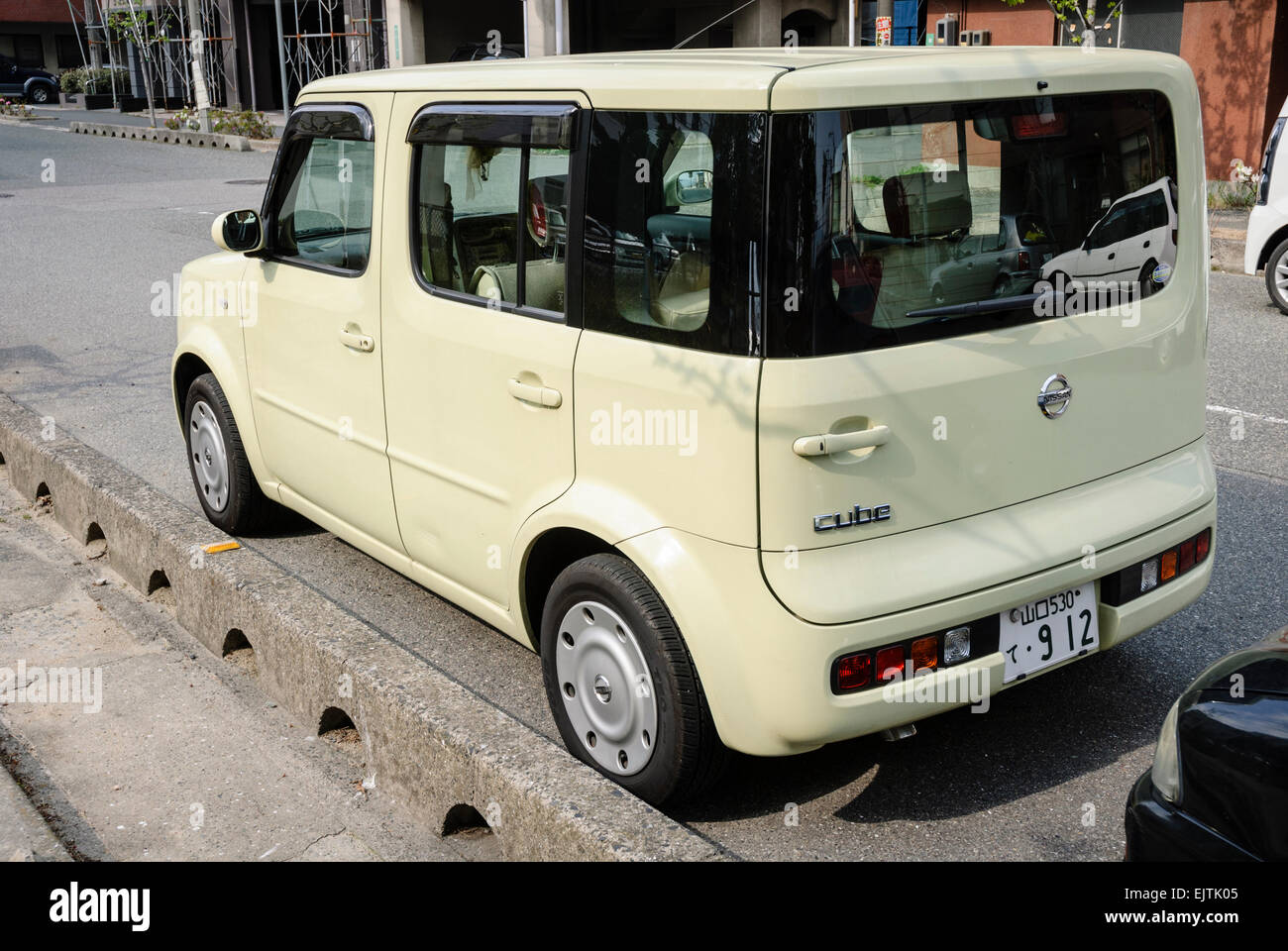 Asian Car Parked