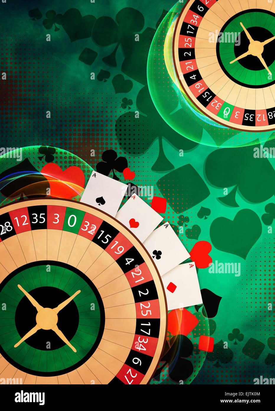 Custom Casino Party Invitations