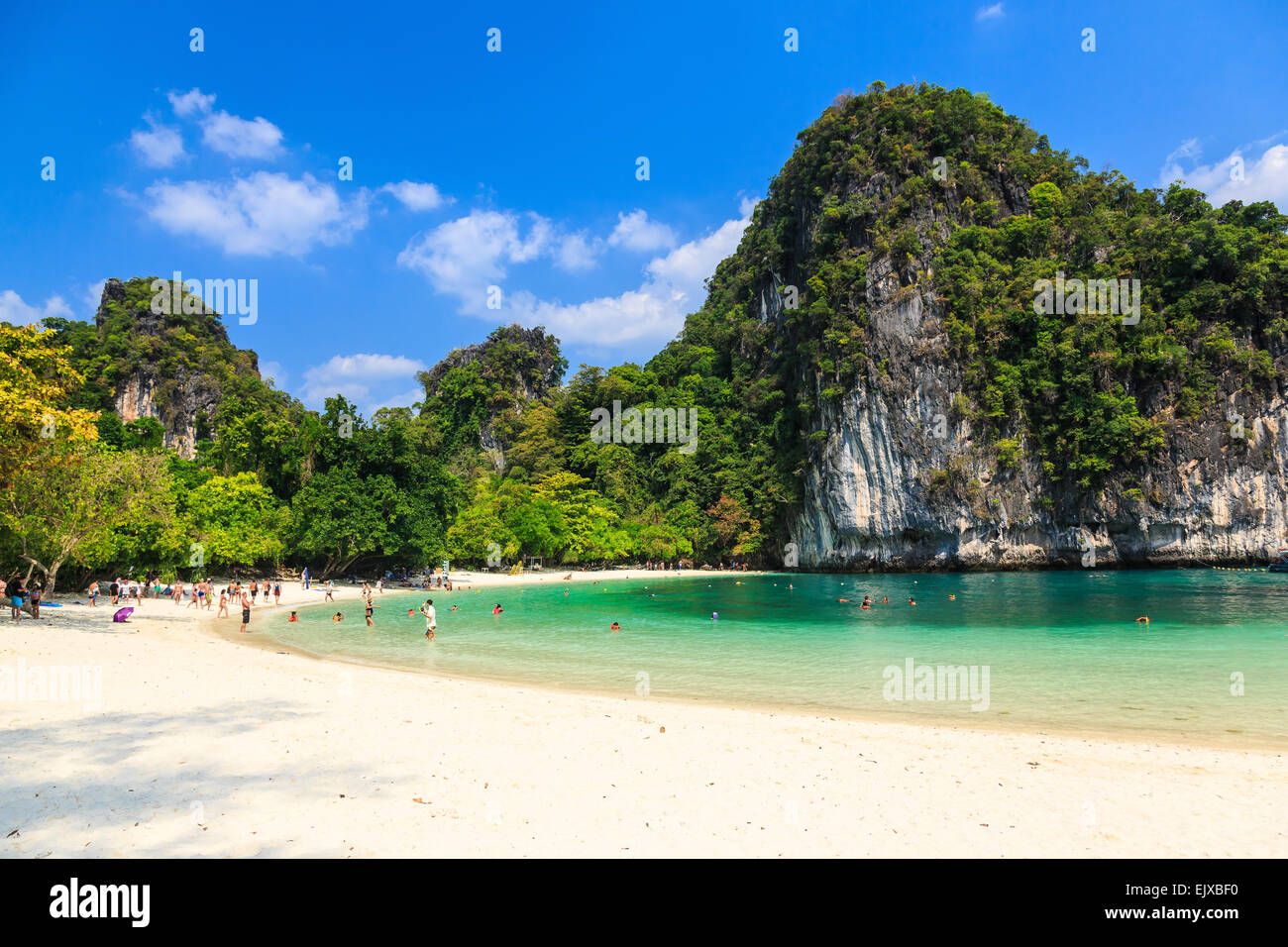 Hong Island lagoon. Krabi province, Thailand Stock Photo, Royalty Free Image:...