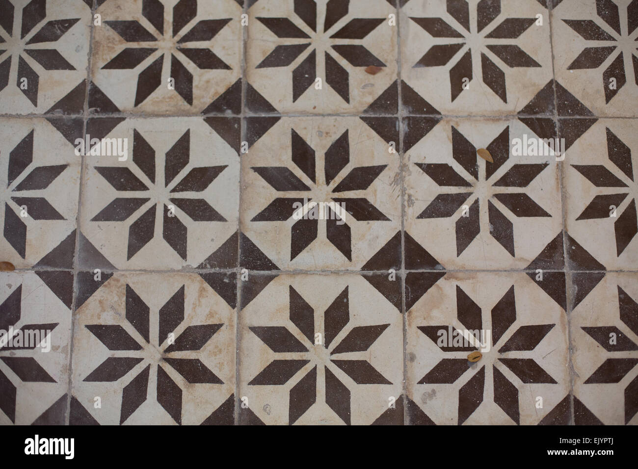 Patterned ceramic floor tiles at wat chaloem phra kiat nonthaburi patterned ceramic floor tiles at wat chaloem phra kiat nonthaburi thailand dailygadgetfo Image collections