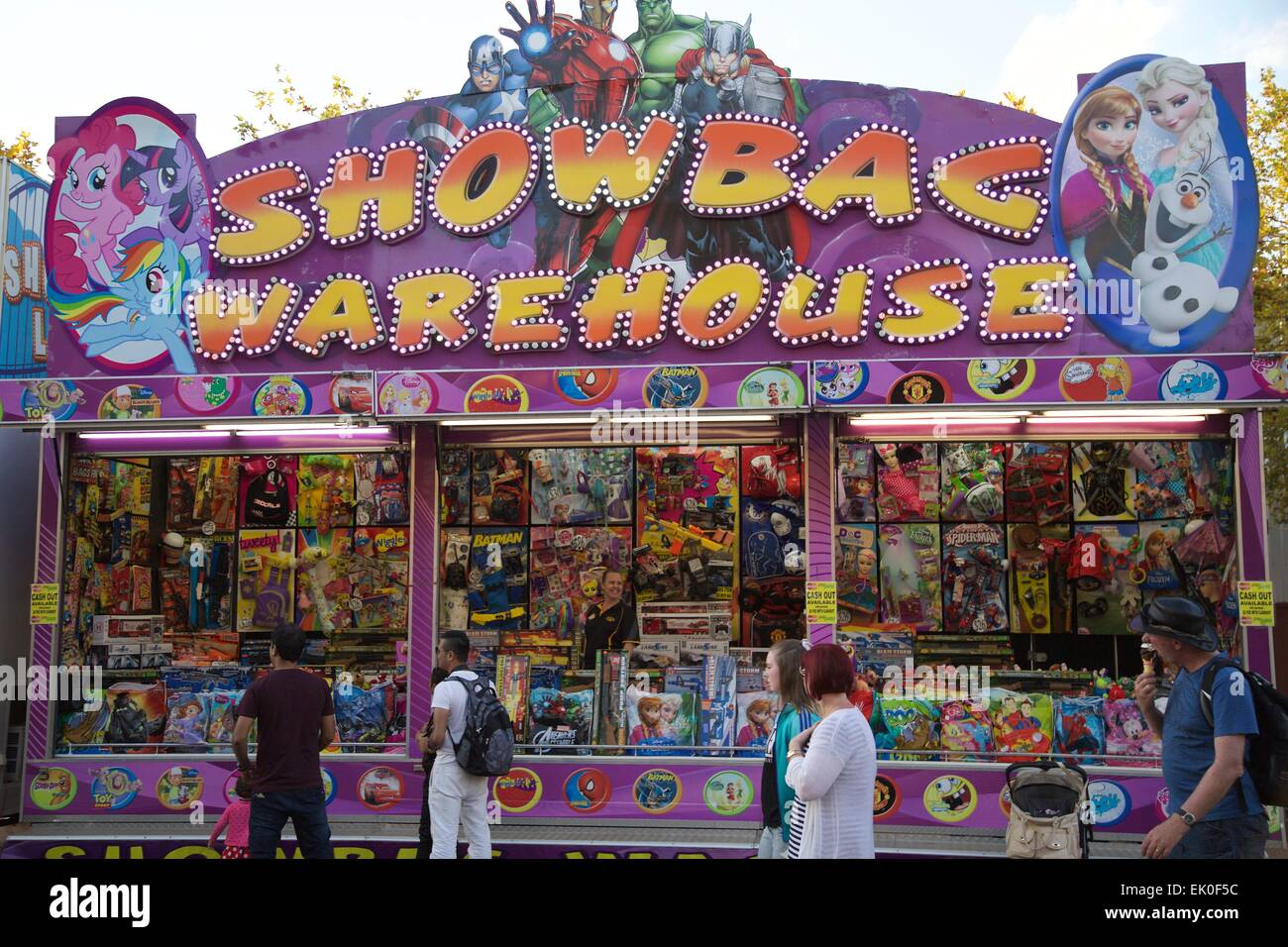 Show Bag Stalls At The Sydney Royal Easter Show Credit Richard Stock Photo 80531848 Alamy