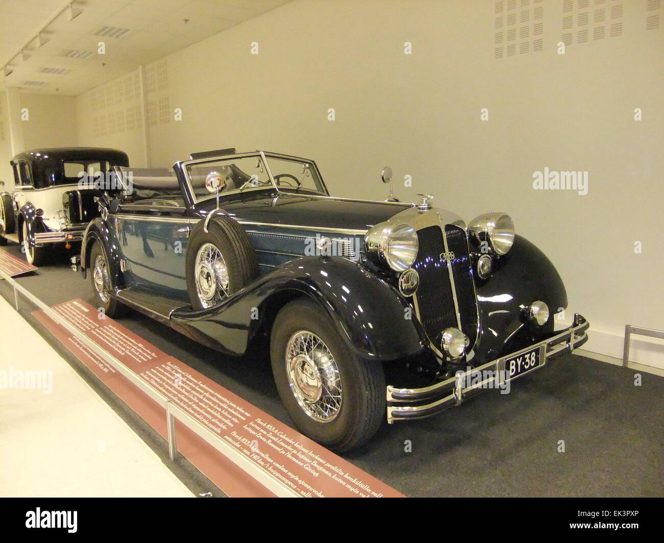 Very rare Horch Cabriolet, type 670. German luxurycar produced ...