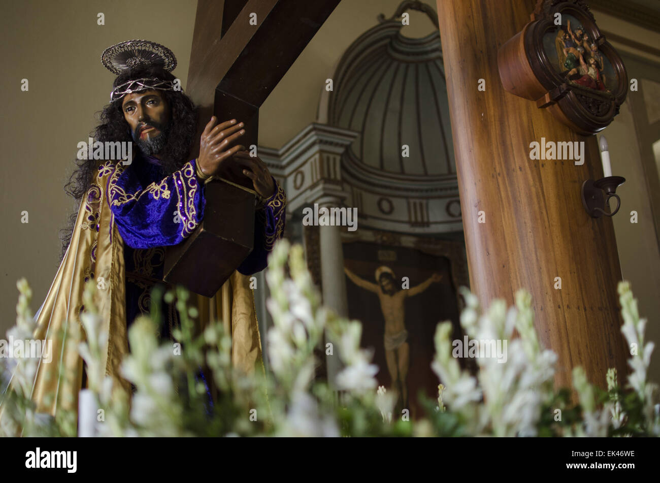April 3 2015 suchitoto cuscatln el salvador a christ april 3 2015 suchitoto cuscatln el salvador a christ figure used in processions is displayed in the santa luca church in suchitoto el salvador sciox Gallery