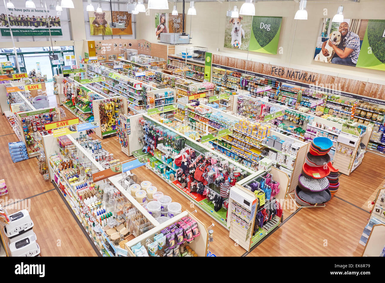 pets at home interior store space stock photo royalty