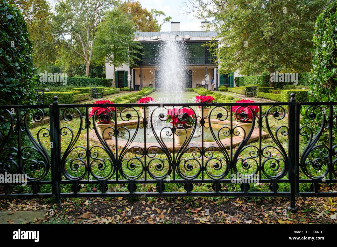 Fountains, Bayou Bend Gardens U0026 Home, Museum Of Fine Arts Houston