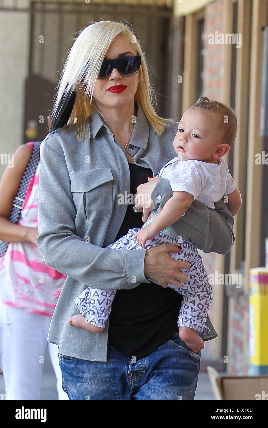 Gwen Stefani takes her youngest son Apollo Rossdale to ...