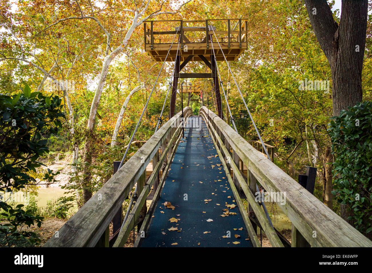 Exceptional Foot Bridge, Bayou Bend Gardens U0026 Home, Museum Of Fine Arts Houston, House