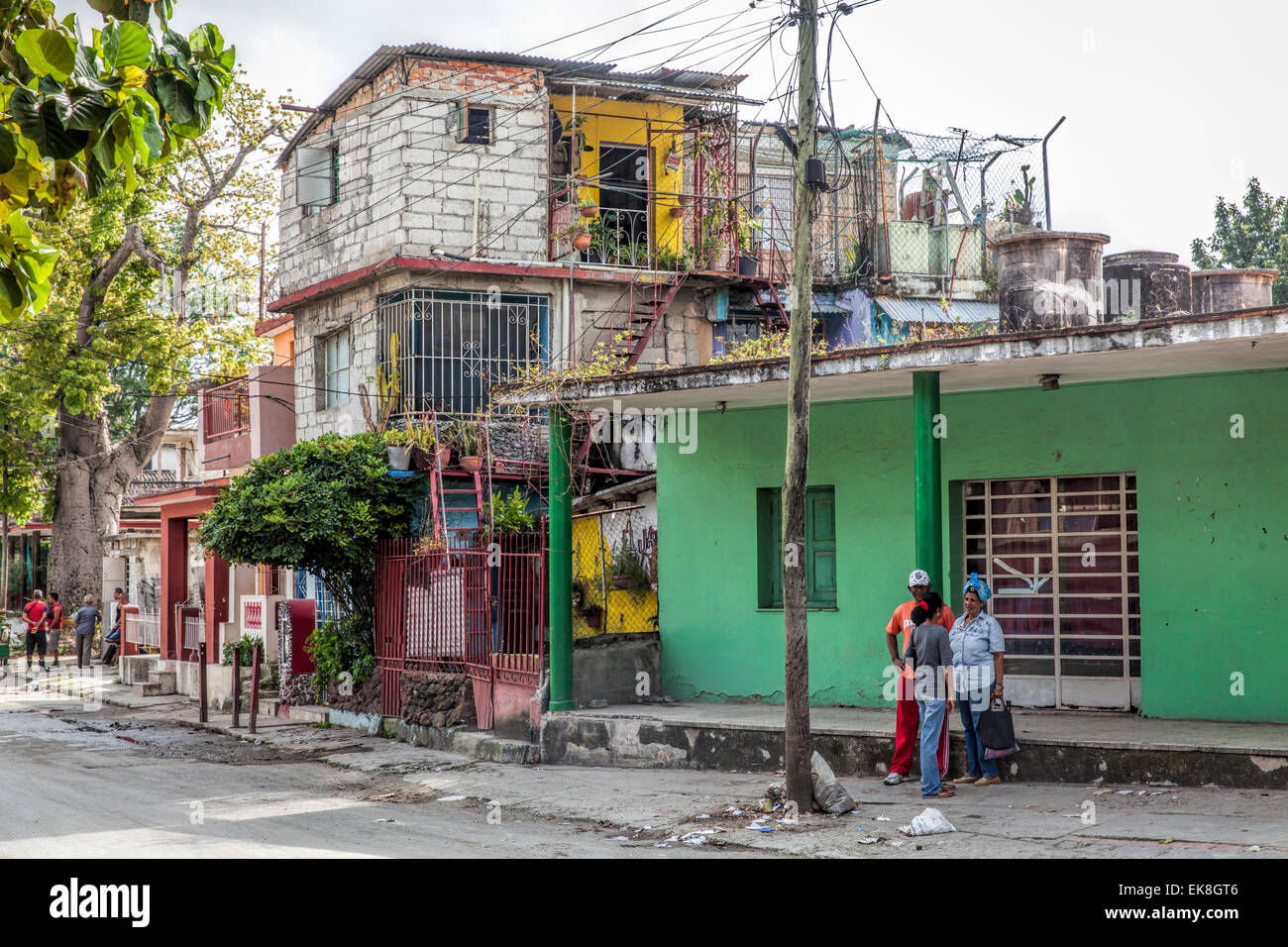 shanty town in a poor suburb of havana in cuba stock photo royalty free image 80708774 alamy. Black Bedroom Furniture Sets. Home Design Ideas