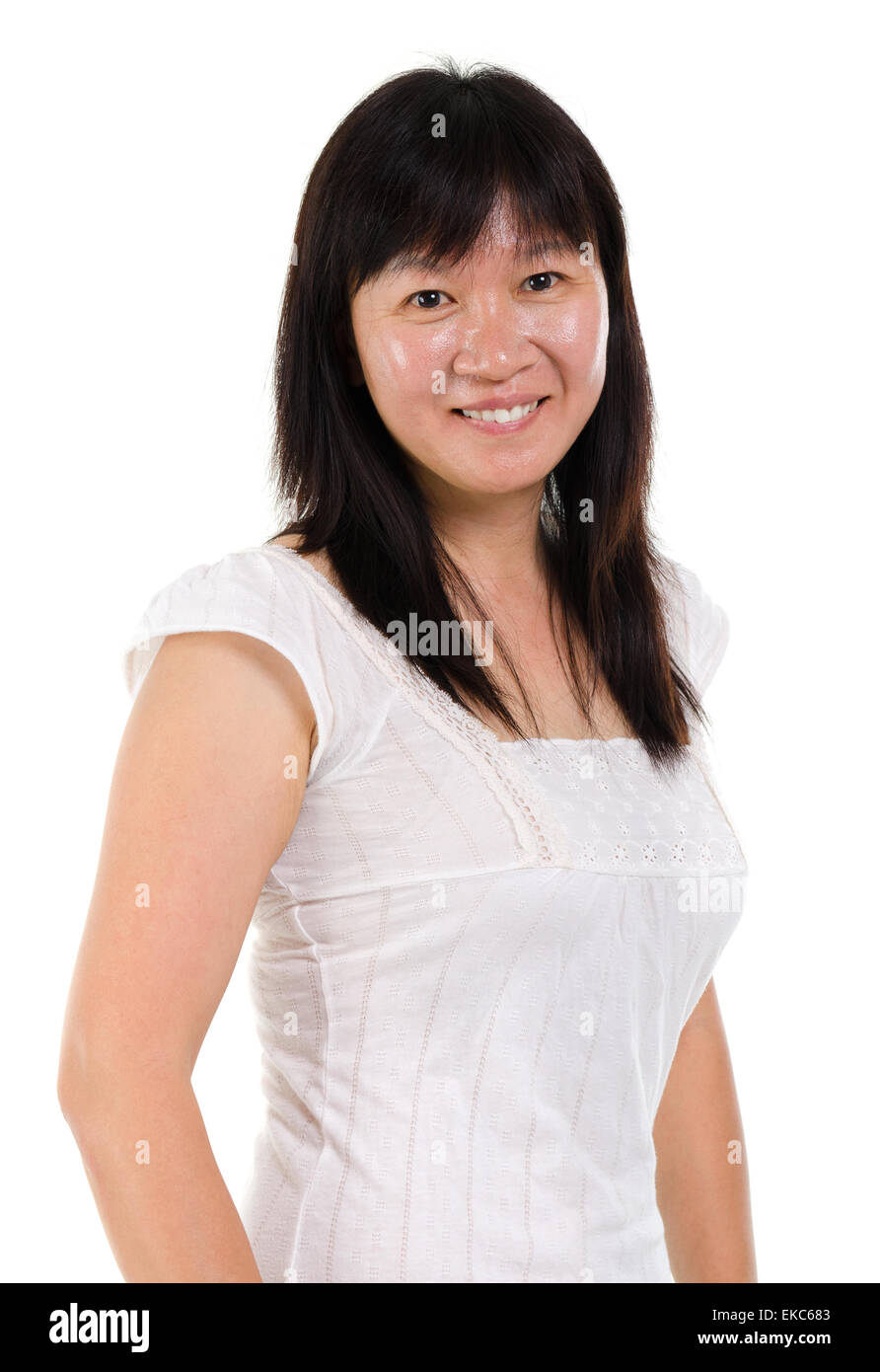 asian mature woman stock photo, royalty free image: 80788291 - alamy