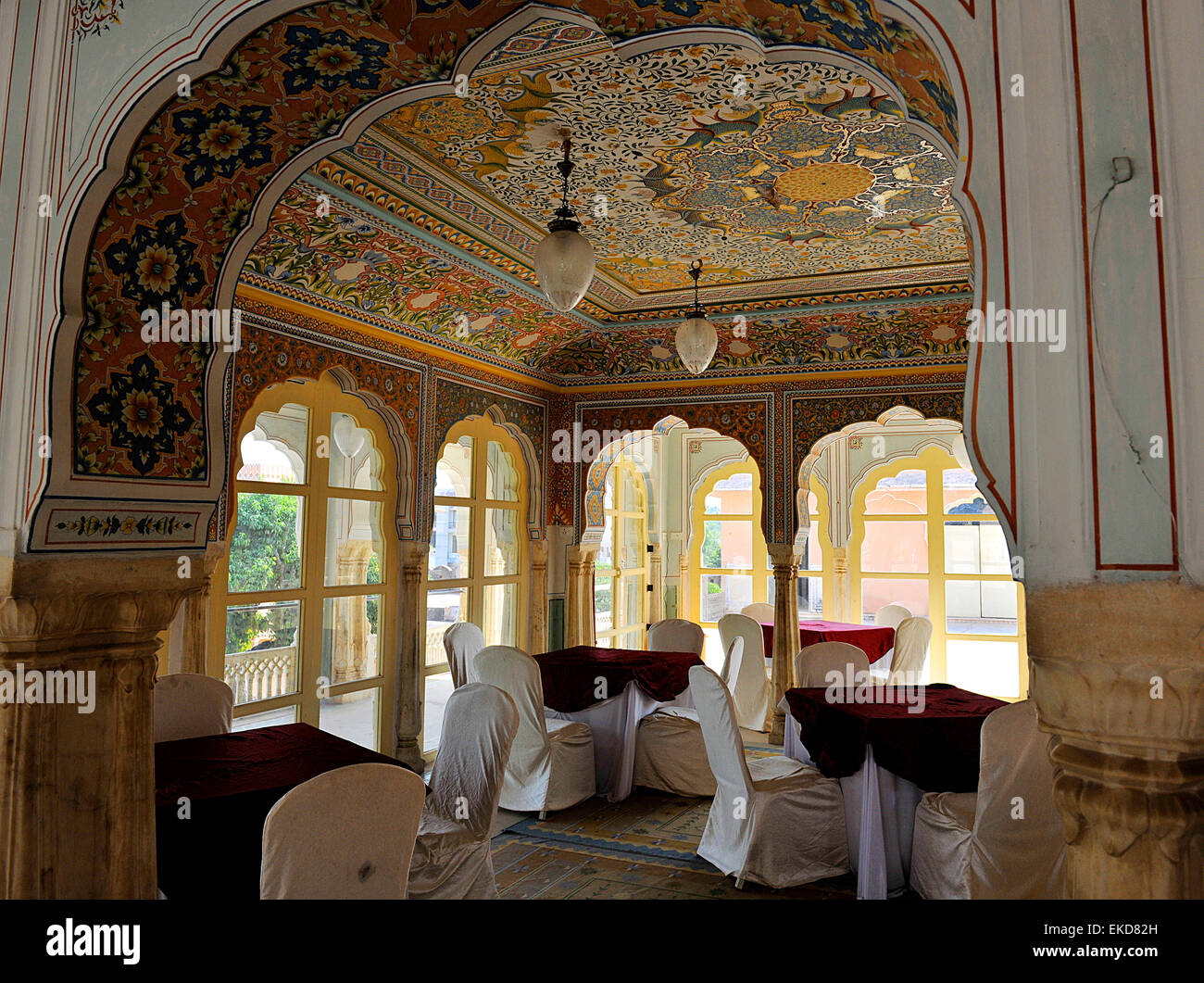 Chomu India  city pictures gallery : Chomu Palace Hotel, Rajasthan, India Stock Photo, Royalty Free Image ...