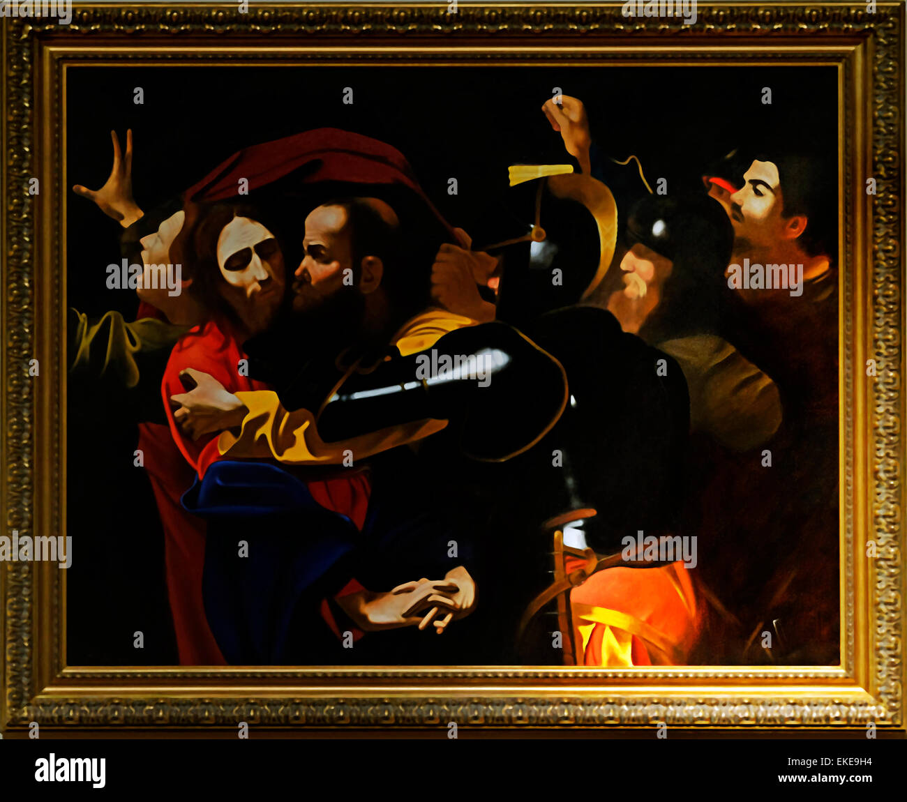the taking of christ caravaggio Taking of christ, 1602 by caravaggio baroque religious painting national gallery of ireland, dublin, ireland.
