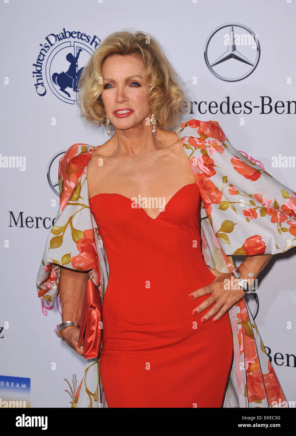 BEVERLY HILLS, CA - OCTOBER 20, 2012: Donna Mills at the 26th Stock ...