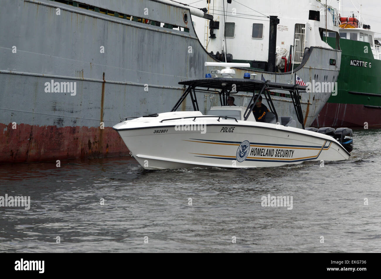 Homeland Security US Customs Border Protection Water Vessel In - Us customs miami map