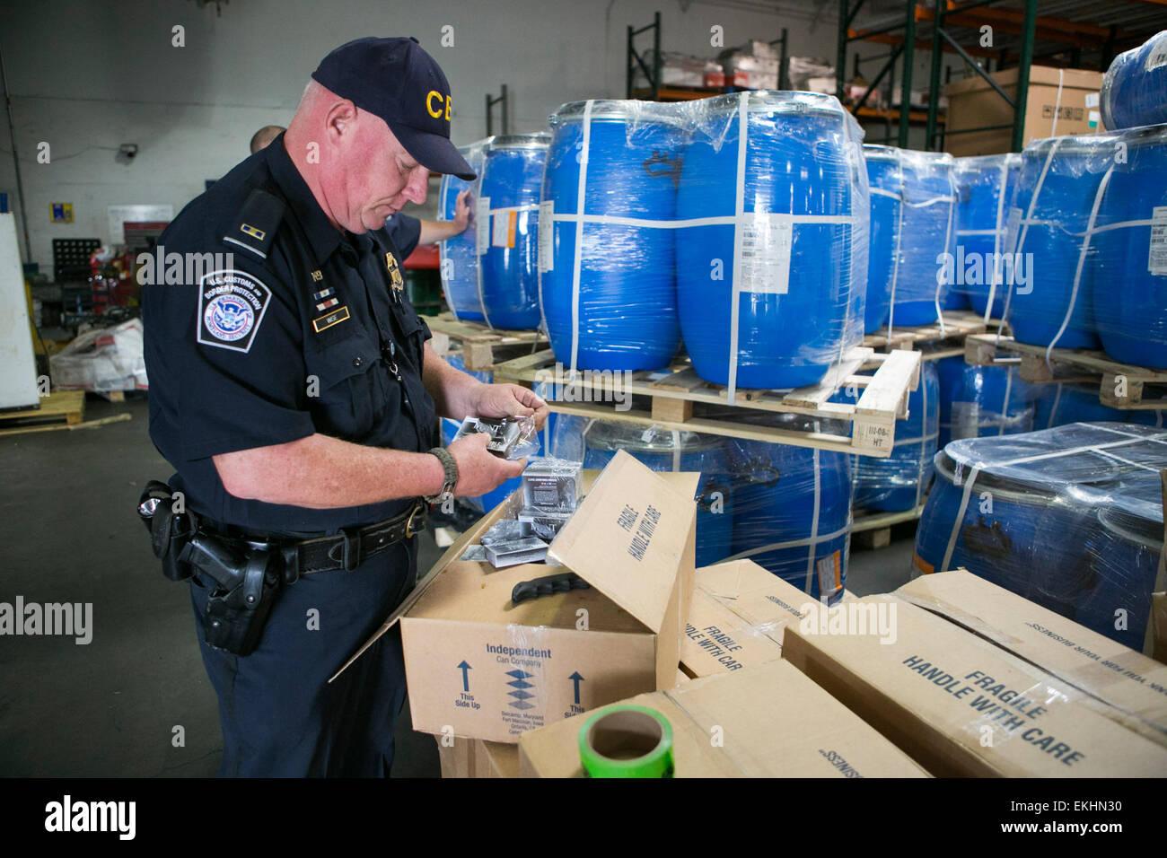 cbp officers inspect cargo arriving to the port of philadelphia james tourtellotte stock image cbp officer job description