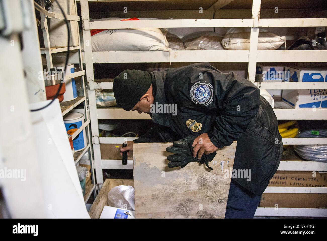 110612 port of new york newark a cbp officer inspects a crate aboard cbp officer job description