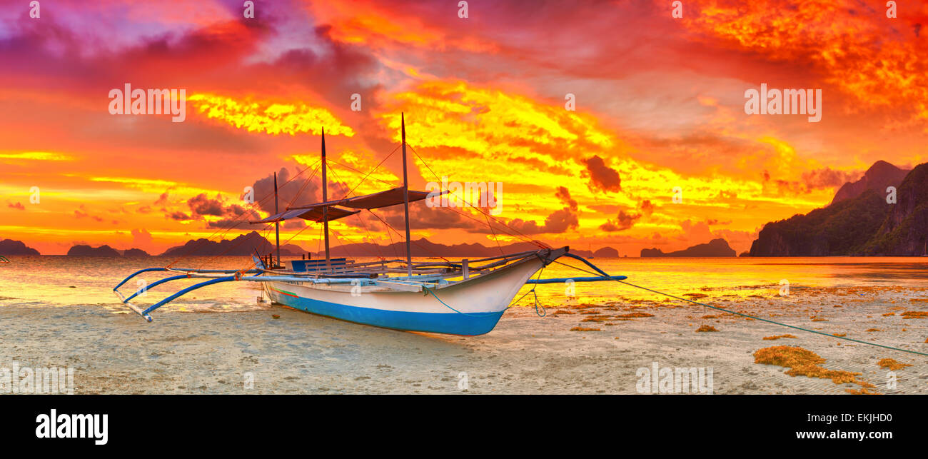 Philippine Bangka Boat Royalty Free Best Home