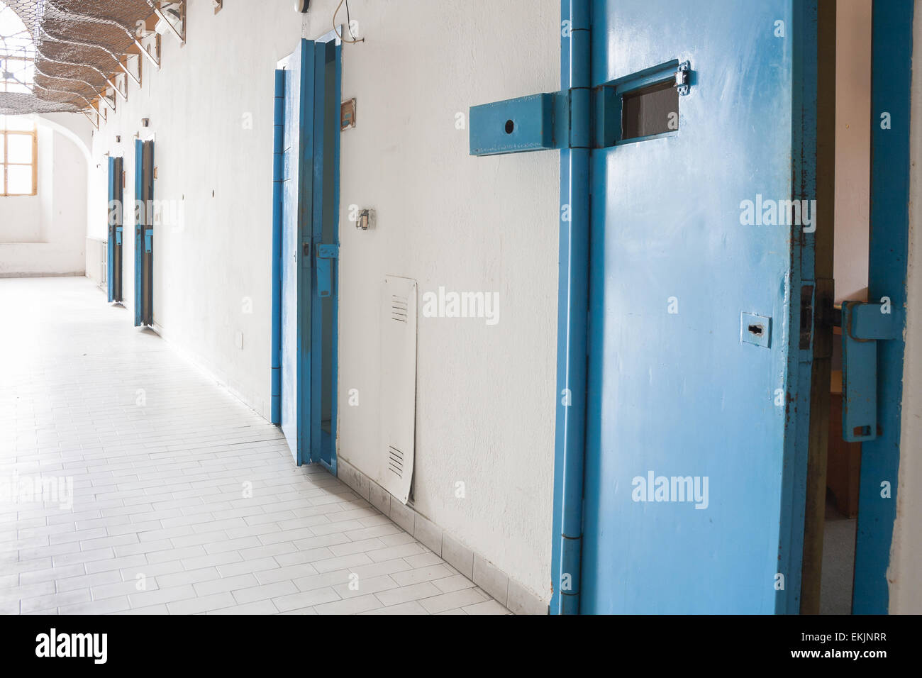 Line of armored doors. Four security doors. & Line of armored doors. Four security doors Stock Photo Royalty ... Pezcame.Com