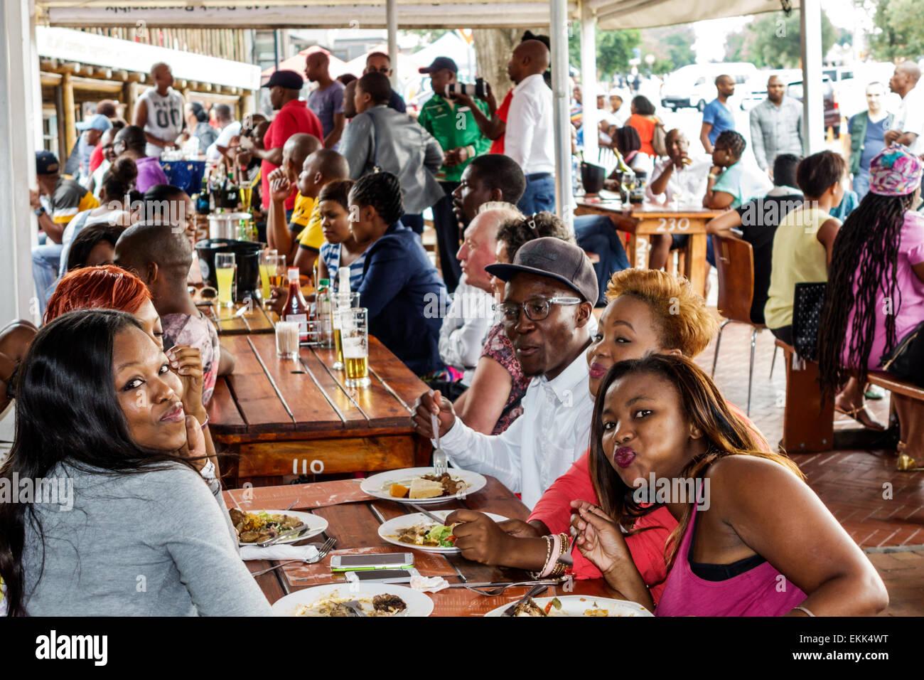 Sakhumzi Restaurant Soweto South Africa