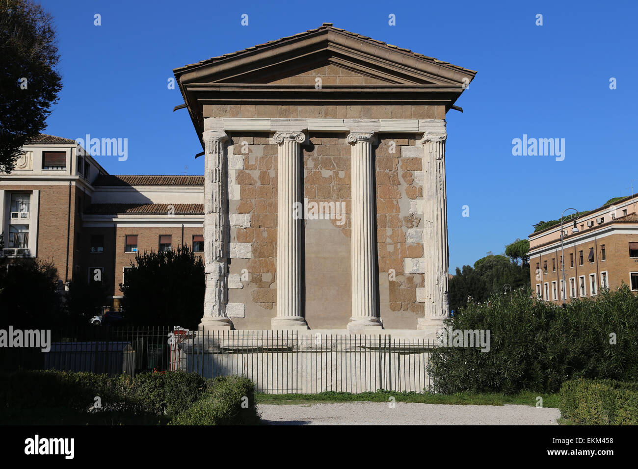 Italy. Rome. Temple of Portunus. Dedicated to the god ...