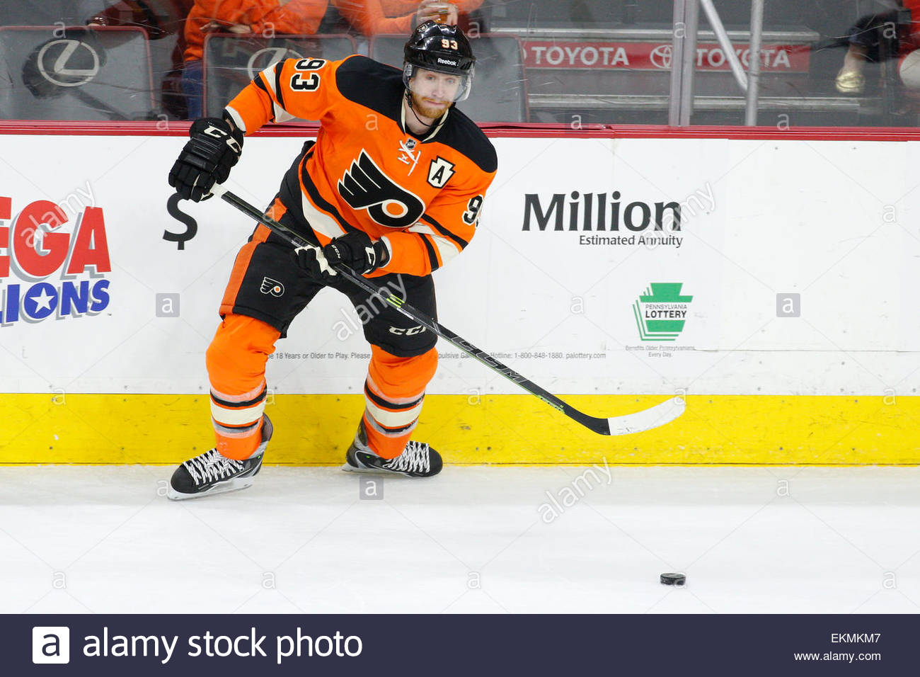 April 11 2015 philadelphia flyers right wing jakub voracek 93 in action