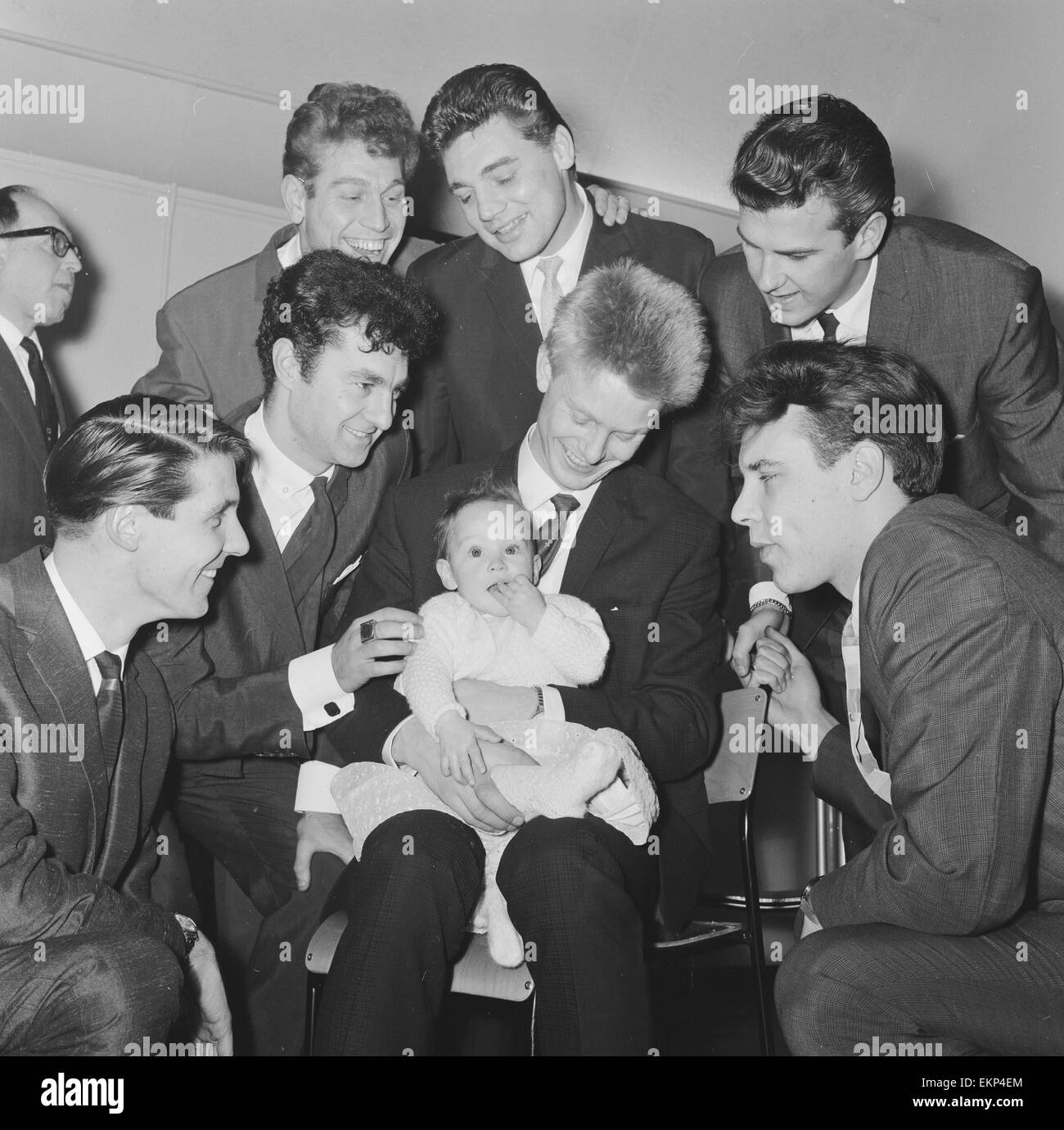 Christening of nine month old Berenice Ann Cooper ...