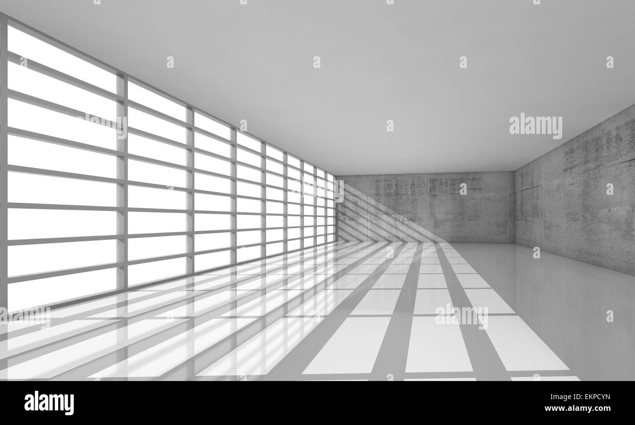 Modern Architecture Windows abstract modern architecture background, empty white open space