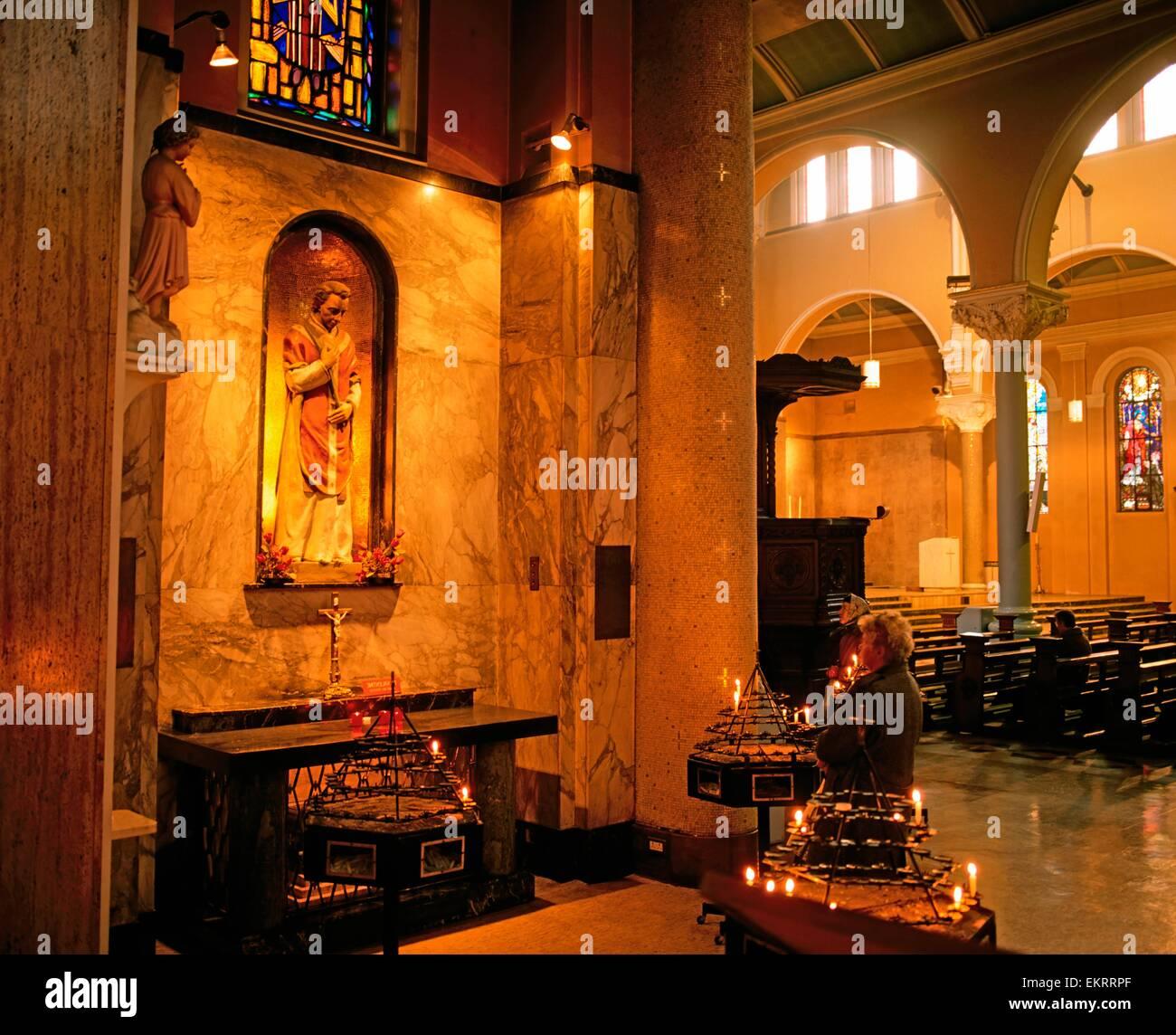 Whitefriar Street Church, Dublin, Co Dublin, Ireland; Shrine To St.  Valentine