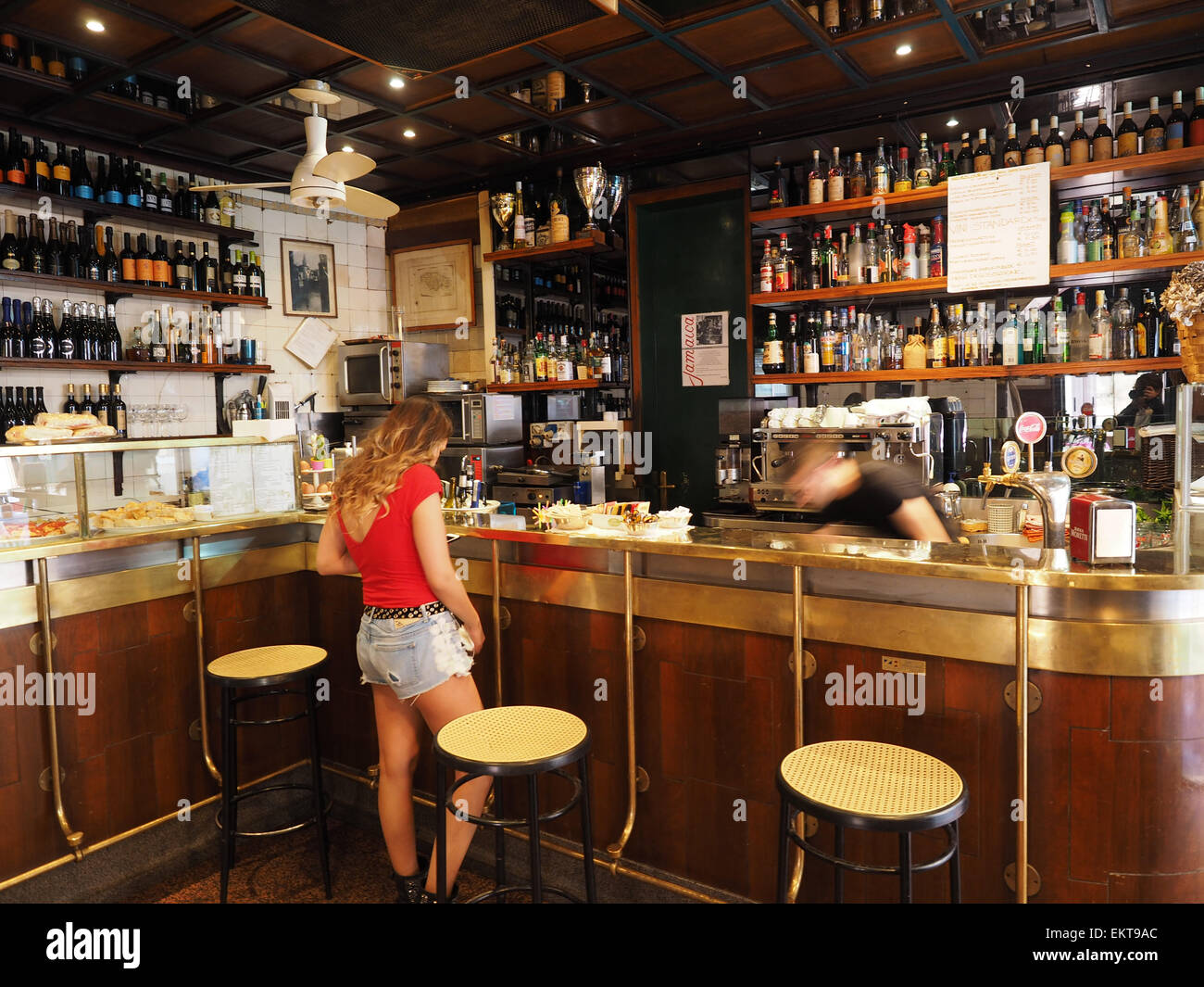 Jamaica cafe brera district milan lombardy italy for Brera district