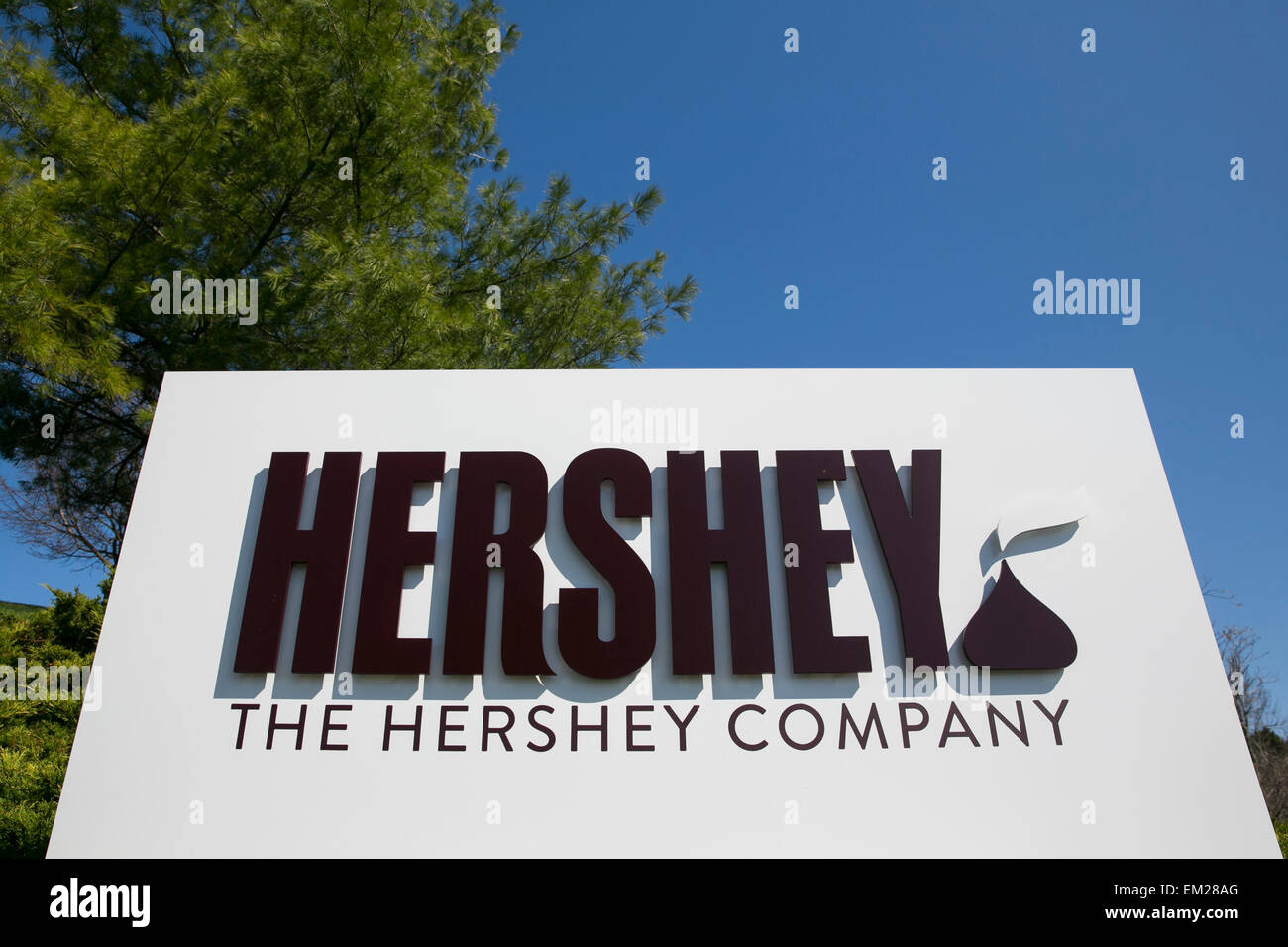 hershey company Today hershey's is one of the biggest chocolate makers in the world in 2010 its annual revenue was close to $55 billion and out of it the profits were $500 million.
