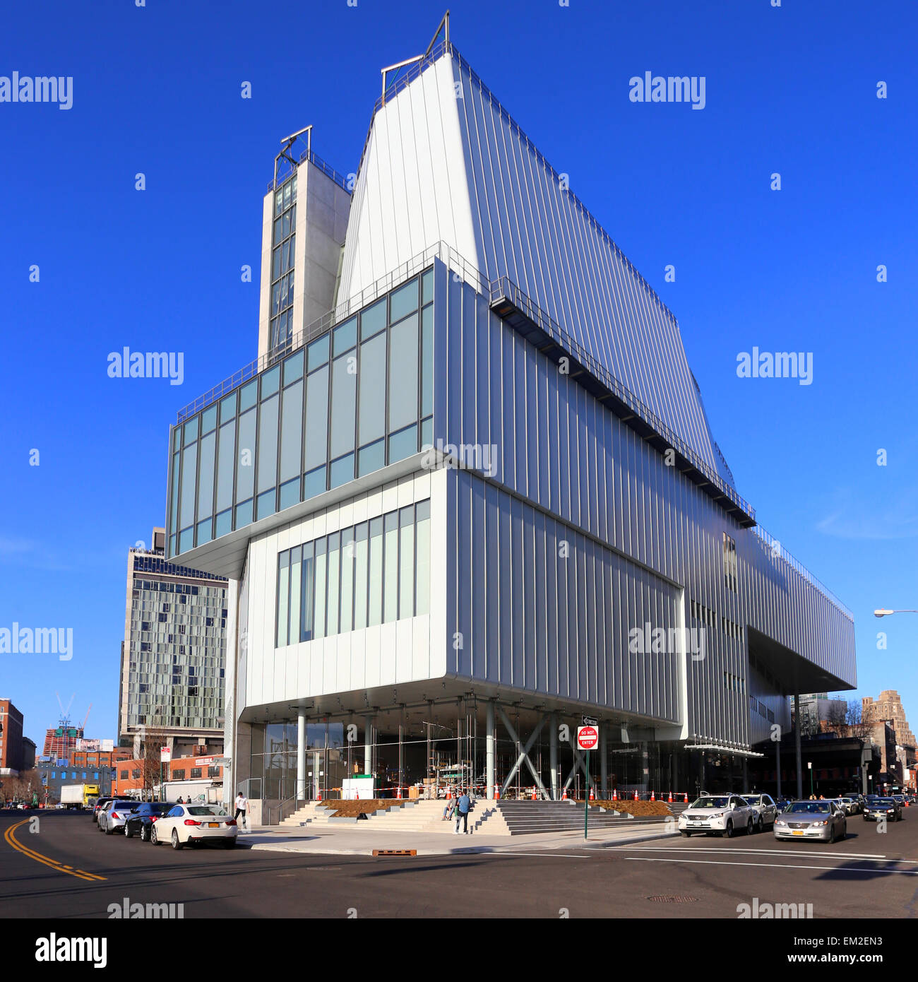 The new Whitney Museum of American Art, New York City ...