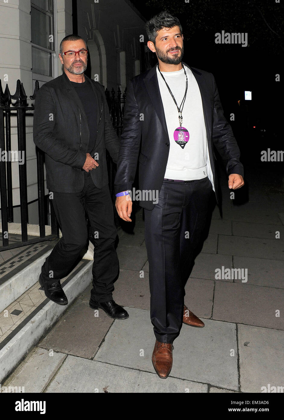 18july2012-london-george-michael-and-his