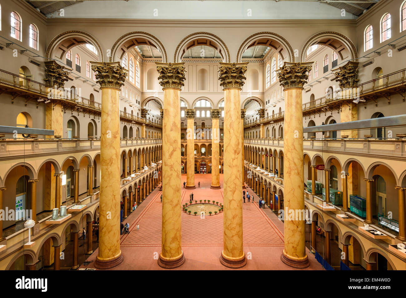 Foyer Museum Washington Dc : The great hall of national building museum in