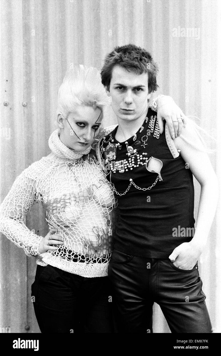 Punk Rock fashion hits the high street. Clothing from ...