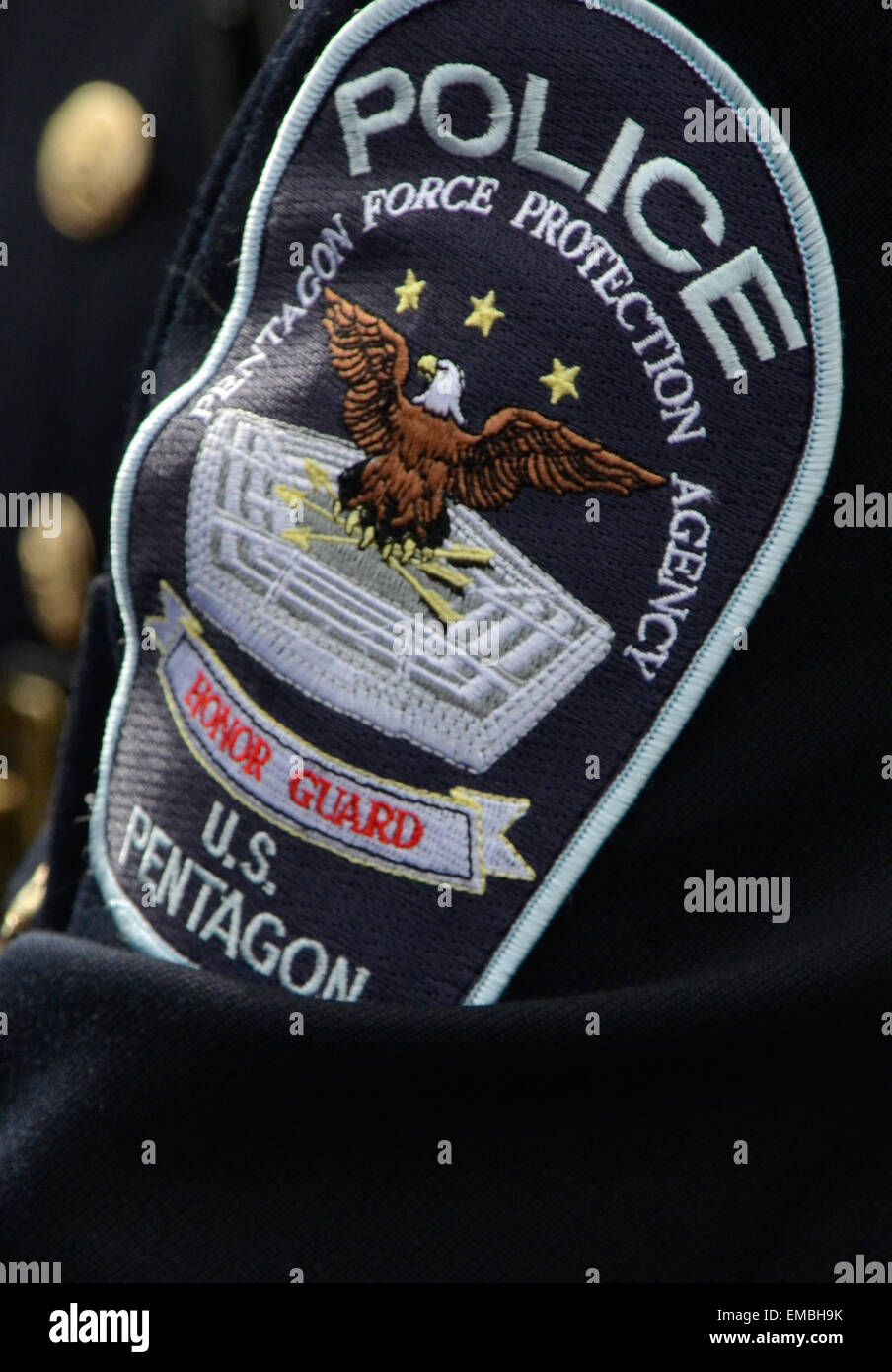 Pentagon Police Patch Stock Photo, Royalty Free Image: 81389663 ...