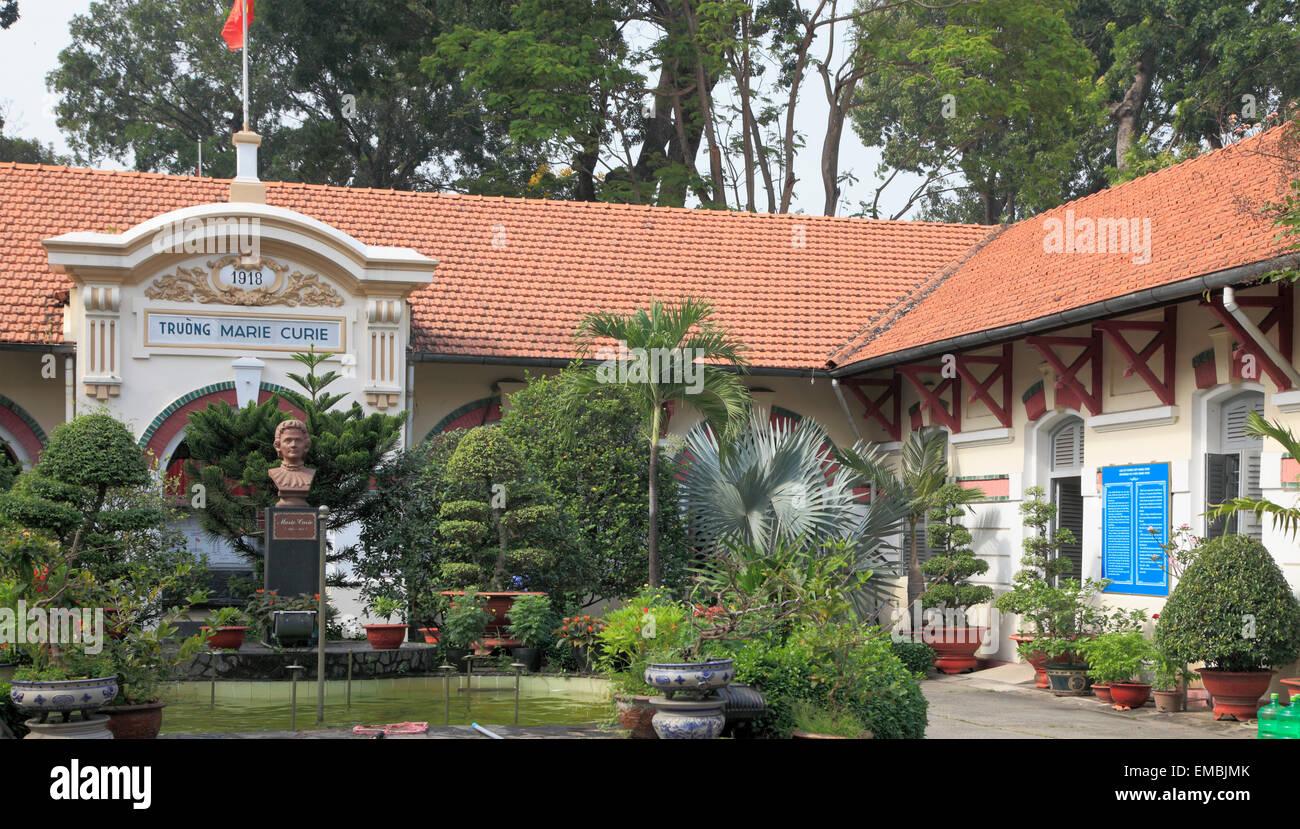 Vietnam Ho Chi Minh City Saigon Lycée Marie Curie school french ...