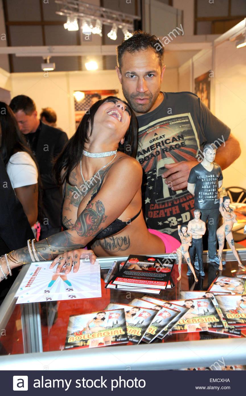 Woman makes guy suck cock