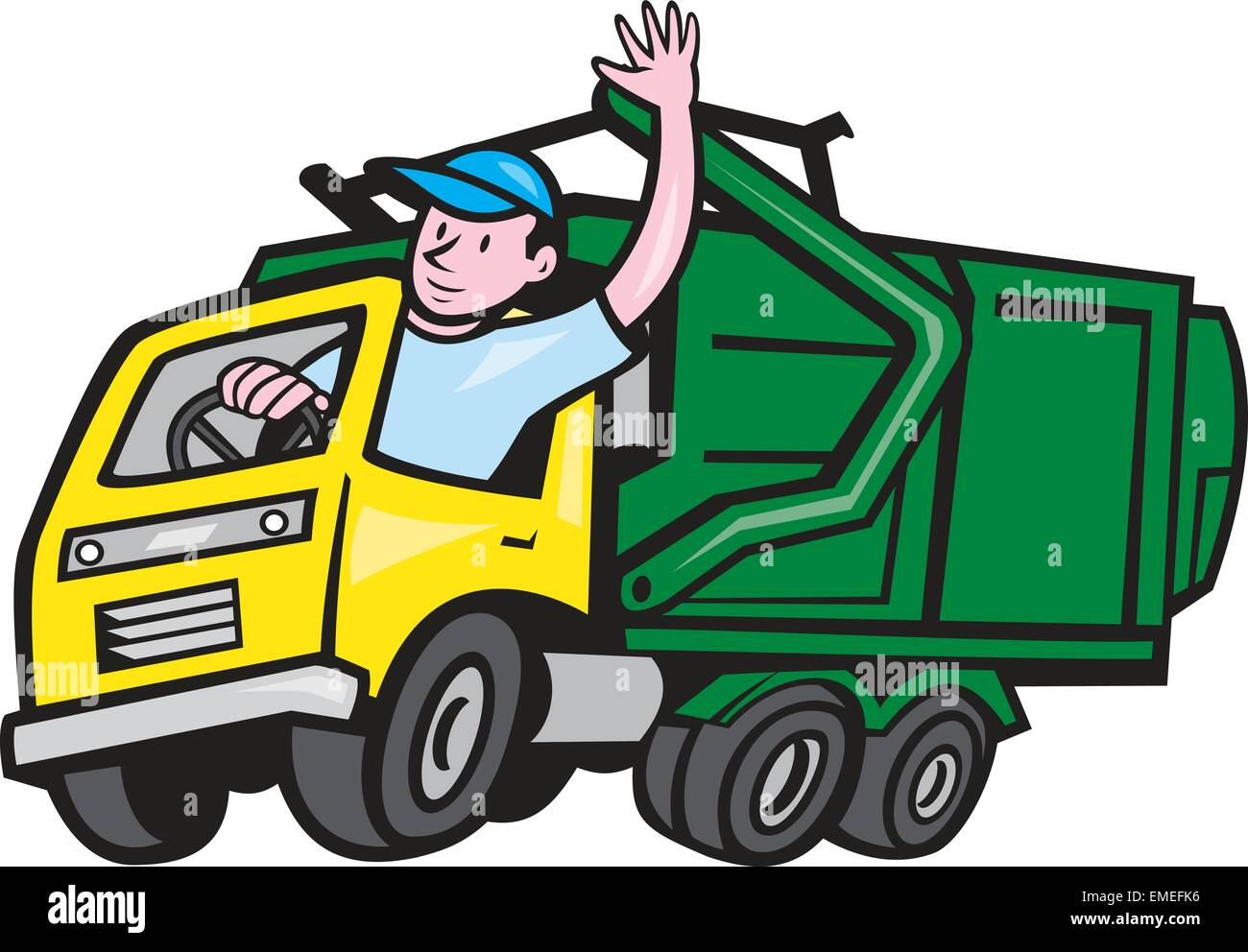 how to become a trash truck driver