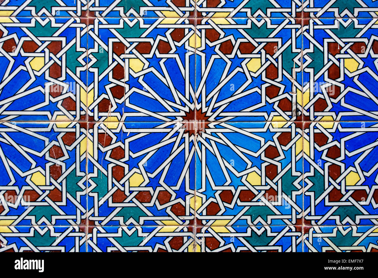 decorative ceramic wall tiles. Old Ornate Decorative Ceramic Wall Tiles  Church of Saint Mary the Crowned Main Street Gibraltar