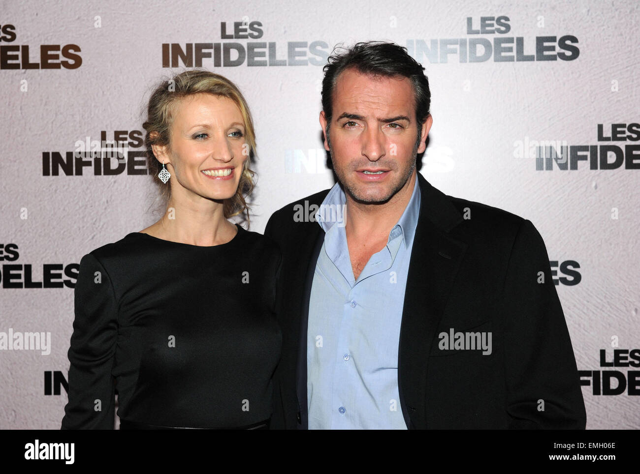 14 paris alexandra lamy and jean dujardin for Alexandra dujardin