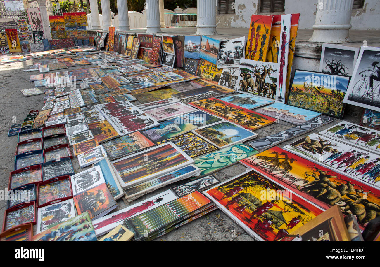 souvenir shop in zanzibar stock photo 81522631 alamy